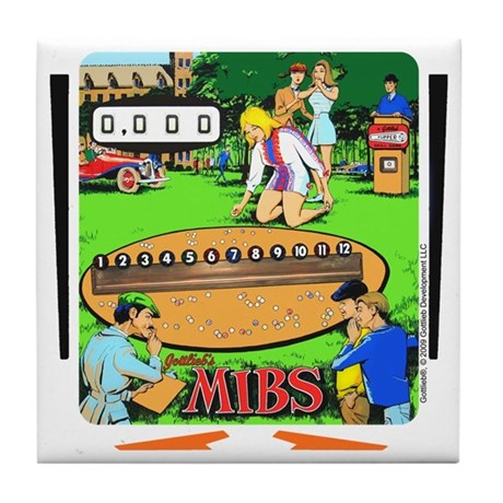 "Gottlieb® ""Mibs"" Tile Coaster"