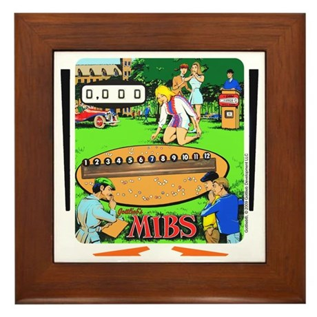 "Gottlieb® ""Mibs"" Framed Tile"