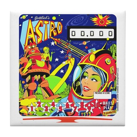 "Gottlieb® ""Astro"" Tile Coaster"