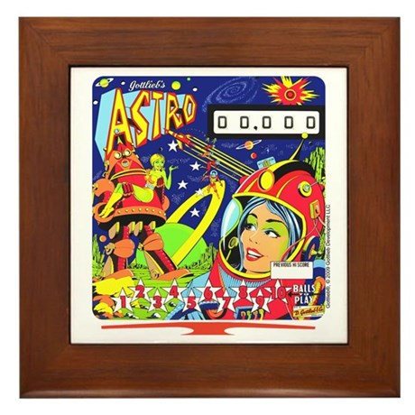 "Gottlieb® ""Astro"" Framed Tile"