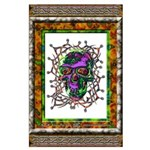 Tribal Skull - BIG Poster - 23