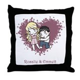 Rosalie & Emmett Throw Pillow