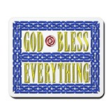 GOD Bless - Mousepad