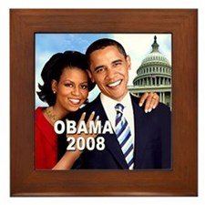 The First Couple Framed Tile