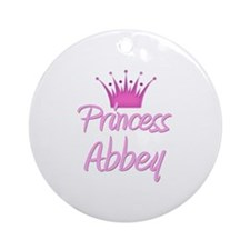 Princess Abbey Ornament (Round)