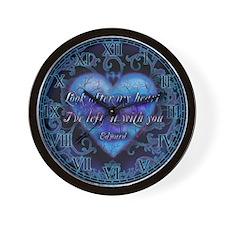 Edward's Heart-Twilight Wall Clock