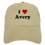 I Love Avery Cap