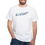 Retro California White T-Shirt