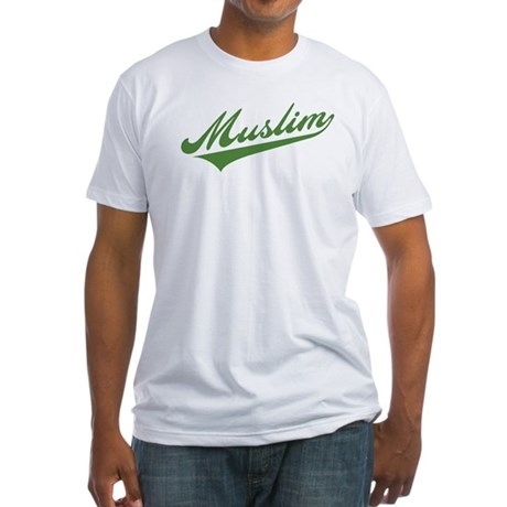 Retro Muslim Fitted T-Shirt