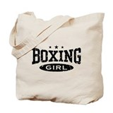 Boxing Girl Tote Bag