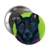 "Black Shepherd 2.25"" Button (10 pack)"