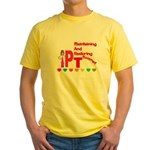 physical therapy Yellow T-Shirt