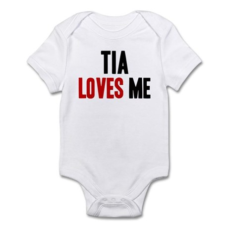 Tia loves me Infant Bodysuit