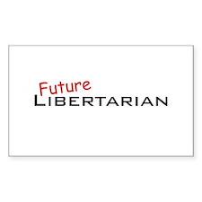 Future Libertarian Rectangle Decal