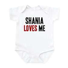 Shania loves me Infant Bodysuit