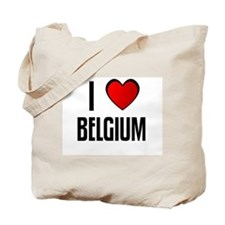 I LOVE BELGIUM Tote Bag