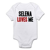 Selena loves me Onesie
