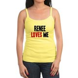 Renee loves me Ladies Top