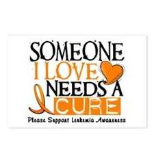 Needs A Cure 1 LEUKEMIA Postcards (Package of 8)