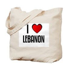 I LOVE LEBANON Tote Bag