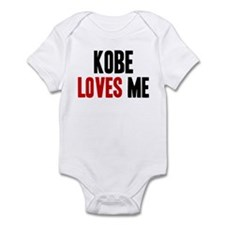 Kobe loves me Onesie