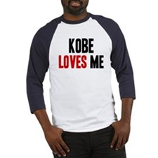 Kobe loves me Baseball Jersey