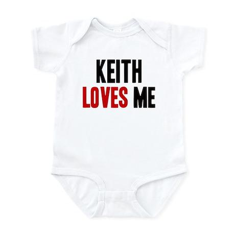 Keith loves me Infant Bodysuit