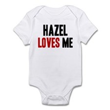 Hazel loves me Infant Bodysuit