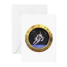 Space Porthole Greeting Cards (Pk of 20)