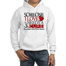 Needs A Cure JUVENILE DIABETES Jumper Hoody
