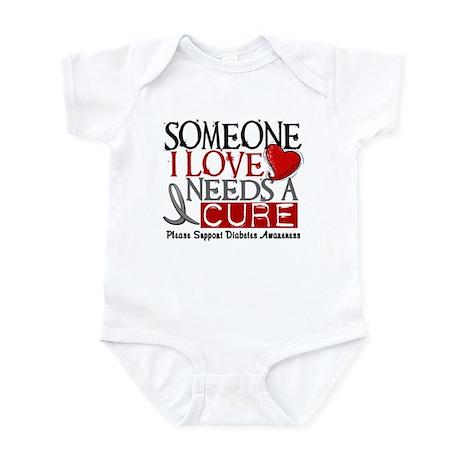 Needs A Cure DIABETES Infant Bodysuit