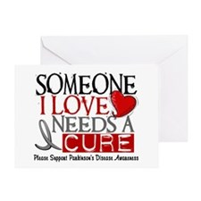 Needs A Cure PARKINSONS Greeting Card