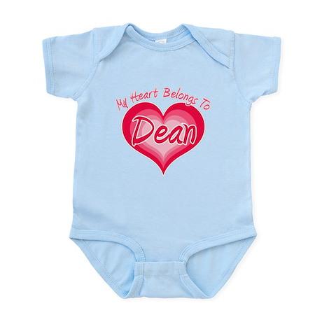 I Heart Dean Infant Bodysuit