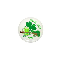 ShamRock Mini Button