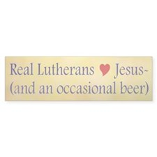 Jesus and Beer Bumper Sticker (10 pk)