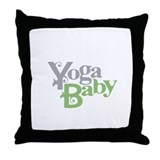 Yoga Baby Throw Pillow