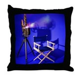 Director Chair Throw Pillow