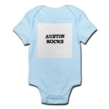 AUSTIN ROCKS Infant Creeper