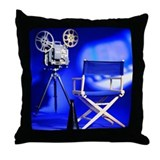 Director Set Throw Pillow