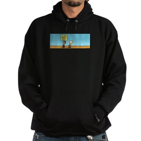 The Great Pumpkin is Coming Hoodie (dark)