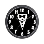 Team Groom Wall Clock