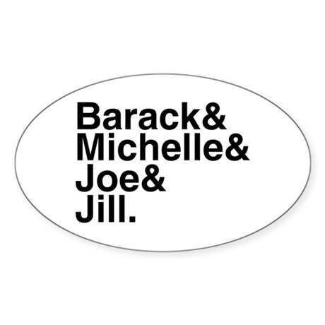White House Roll Call Oval Sticker