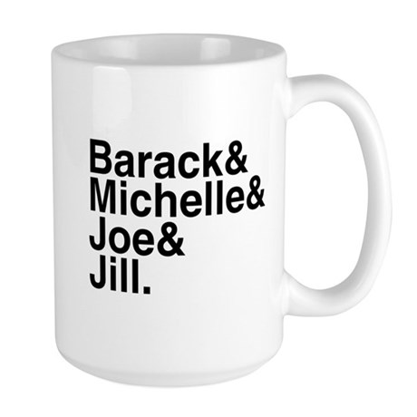 White House Roll Call Large Mug