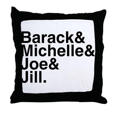 White House Roll Call Throw Pillow