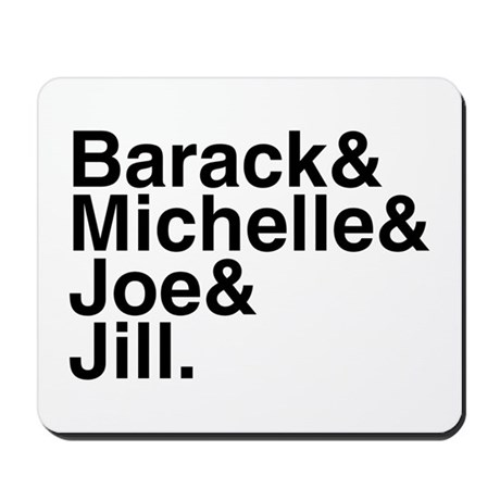 White House Roll Call Mousepad