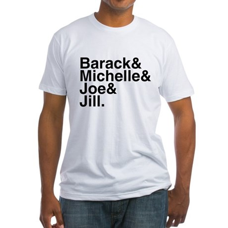 White House Roll Call Fitted T-Shirt