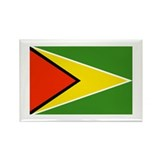 Guyana Rectangle Magnet (100 pack)