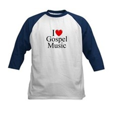 """I Love (Heart) Gospel Music"" Tee"