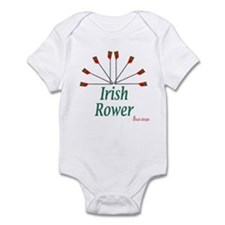 Irish Rower Boathouse Infant Bodysuit