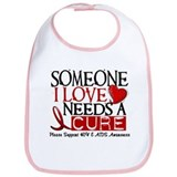 Needs A Cure HIV AIDS T-Shirts & Gifts Bib